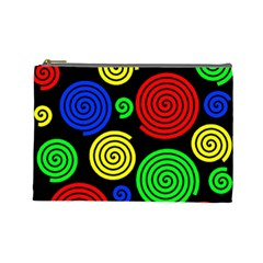 Colorful hypnoses Cosmetic Bag (Large)