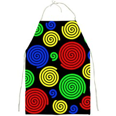 Colorful hypnoses Full Print Aprons