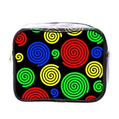 Colorful hypnoses Mini Toiletries Bags