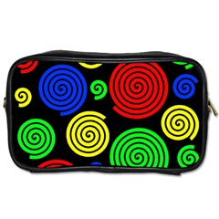 Colorful hypnoses Toiletries Bags