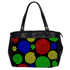 Colorful hypnoses Office Handbags