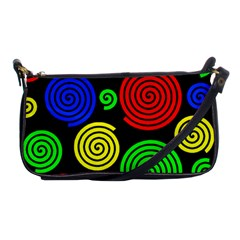 Colorful hypnoses Shoulder Clutch Bags