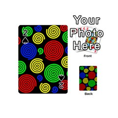 Colorful hypnoses Playing Cards 54 (Mini)