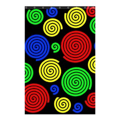 Colorful hypnoses Shower Curtain 48  x 72  (Small)
