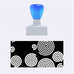 Colorful hypnoses Rubber Stamps (Medium)