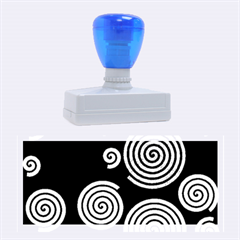 Colorful hypnoses Rubber Stamps (Large)