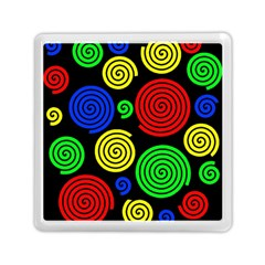 Colorful hypnoses Memory Card Reader (Square)