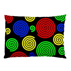 Colorful hypnoses Pillow Case (Two Sides)