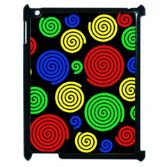 Colorful hypnoses Apple iPad 2 Case (Black)