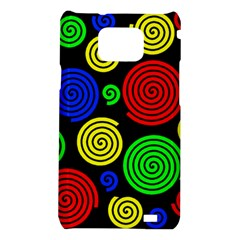 Colorful hypnoses Samsung Galaxy S2 i9100 Hardshell Case