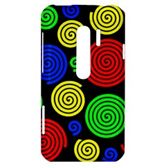 Colorful hypnoses HTC Evo 3D Hardshell Case