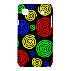 Colorful hypnoses Samsung Galaxy SL i9003 Hardshell Case