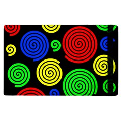 Colorful hypnoses Apple iPad 3/4 Flip Case