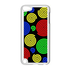Colorful hypnoses Apple iPod Touch 5 Case (White)