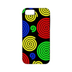 Colorful hypnoses Apple iPhone 5 Classic Hardshell Case (PC+Silicone)