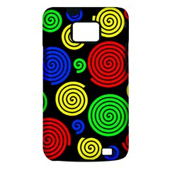 Colorful hypnoses Samsung Galaxy S II i9100 Hardshell Case (PC+Silicone)