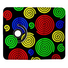 Colorful hypnoses Samsung Galaxy Note II Flip 360 Case