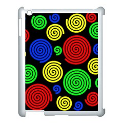 Colorful hypnoses Apple iPad 3/4 Case (White)