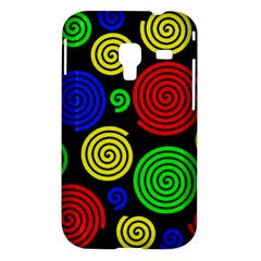 Colorful hypnoses Samsung Galaxy Ace Plus S7500 Hardshell Case