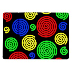 Colorful hypnoses Samsung Galaxy Tab 10.1  P7500 Flip Case