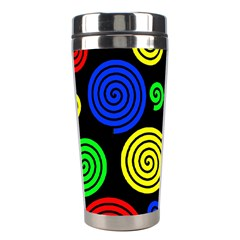 Colorful hypnoses Stainless Steel Travel Tumblers
