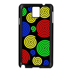 Colorful hypnoses Samsung Galaxy Note 3 N9005 Case (Black)