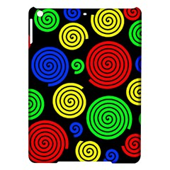 Colorful hypnoses iPad Air Hardshell Cases
