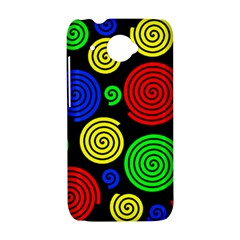 Colorful hypnoses HTC Desire 601 Hardshell Case