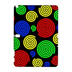 Colorful hypnoses Samsung Galaxy Note 10.1 (P600) Hardshell Case