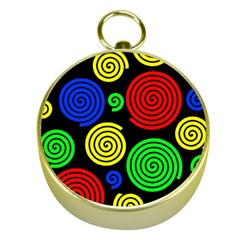Colorful hypnoses Gold Compasses
