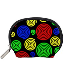Colorful hypnoses Accessory Pouches (Small)