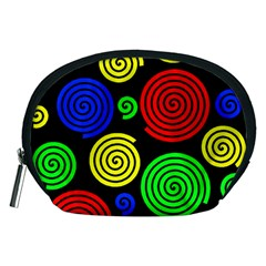 Colorful hypnoses Accessory Pouches (Medium)