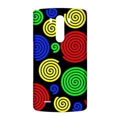 Colorful hypnoses LG G3 Back Case