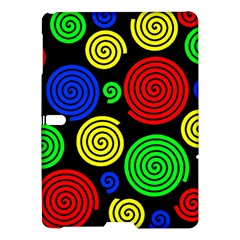 Colorful hypnoses Samsung Galaxy Tab S (10.5 ) Hardshell Case