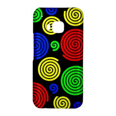 Colorful hypnoses HTC One M9 Hardshell Case