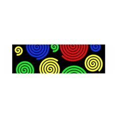 Colorful hypnoses Satin Scarf (Oblong)