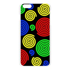 Colorful hypnoses Apple Seamless iPhone 6 Plus/6S Plus Case (Transparent)