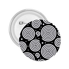 Black and white hypnoses 2.25  Buttons