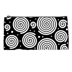 Black and white hypnoses Pencil Cases