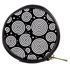 Black and white hypnoses Mini Makeup Bags