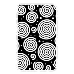 Black and white hypnoses Memory Card Reader