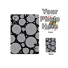 Black and white hypnoses Playing Cards 54 (Mini)