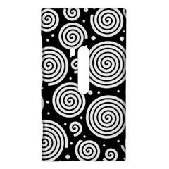 Black and white hypnoses Nokia Lumia 920