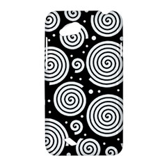 Black and white hypnoses HTC Desire VC (T328D) Hardshell Case