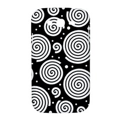 Black and white hypnoses Samsung Galaxy Grand DUOS I9082 Hardshell Case