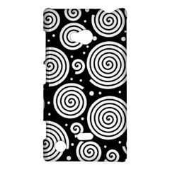 Black and white hypnoses Nokia Lumia 720