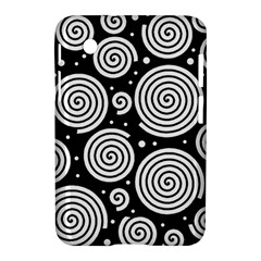 Black and white hypnoses Samsung Galaxy Tab 2 (7 ) P3100 Hardshell Case