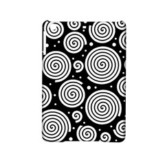 Black and white hypnoses iPad Mini 2 Hardshell Cases