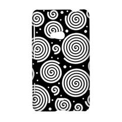 Black and white hypnoses Nokia Lumia 625