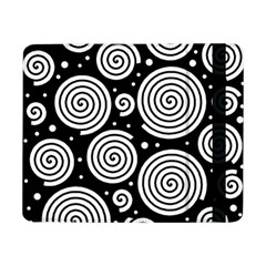 Black and white hypnoses Samsung Galaxy Tab Pro 8.4  Flip Case